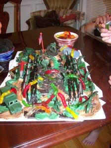 G.I. Joe Tank Cake